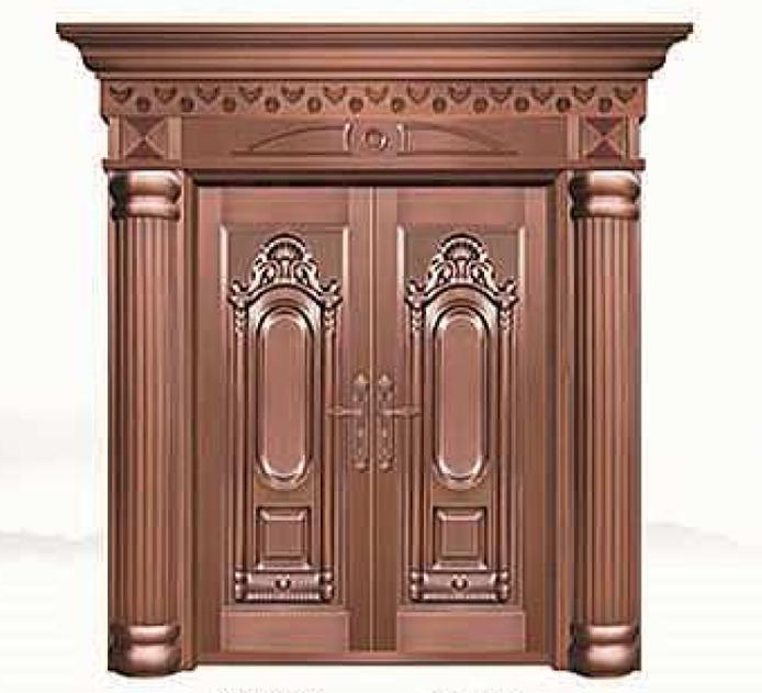 天一:别墅装修为什么要选择铜门