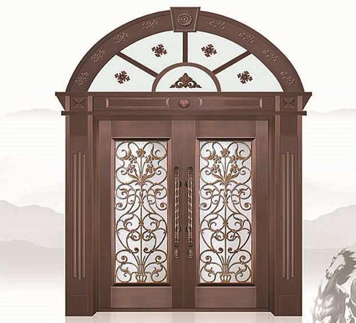 身价高贵的铜门怎样做日常护理?